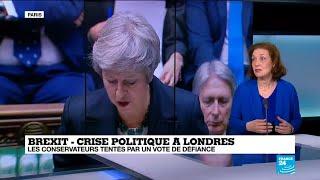 Theresa May dans la tourmente - l