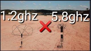 Vídeo 3/3: qual frequência fpv usar? diferenças entre 5.8ghz 1.2ghz e 900mhz