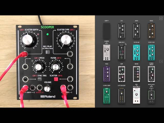 AIRA Effects Modular Customizer Software