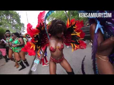 Touchdown Crop Over Barbados Carnival 2014