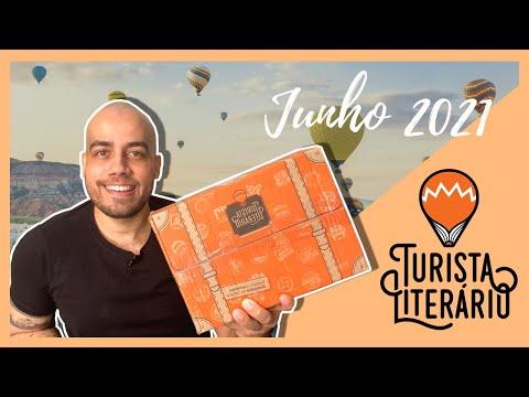 UNBOXING DE LIVROS #9 | TURISTA LITERÁRIO - JUNHO 2021