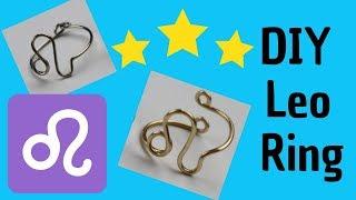 DIY Leo Ring Tutorial ♌ Zodiac July 23-August 22