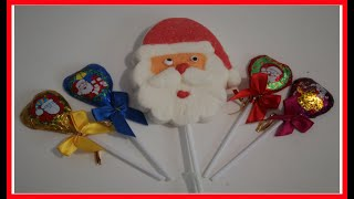 Learn Colors with Santa Lollipops