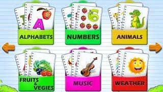 Kids Flashcards - Preschool Reading Flash Cards