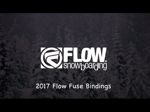 2017 Flow Fuse Snowboard Bindings – Review – The-House.com