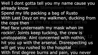 Snak The Ripper- Vandalize Shit ft. ONYX
