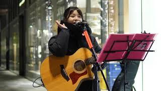 戸田桃香「YOKOHAMA blues (SEKAI NO OWARI)」2019/01/23 MUSIC BUSKER IN UMEKITA グランフロント大阪
