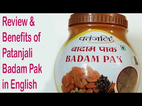 , title : 'Benefits of Badam Pak in english👍 - बादाम पाक के फायदे👌  Patanjali products review✍ in english'