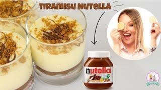 ♡• RECETTE TIRAMISU NUTELLA – FACILE ET RAPIDE •♡