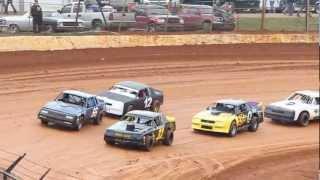 Dirt Track Racing 2/23/13 411 Motor Speedway Street Stock Heat - Sweetheart 52