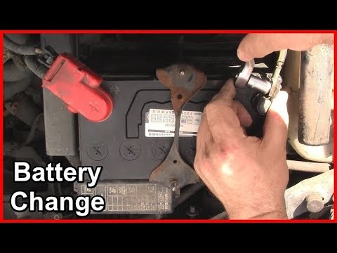 Car Battery Change - Nissan Micra