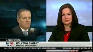 Hölvényi György a HírTv-ben