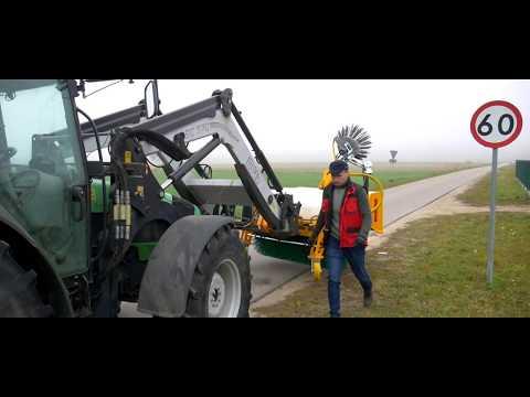 KREATEC Kehrmaschine/Kehrbesen/Veegmaschine TITANIUM 2,4m