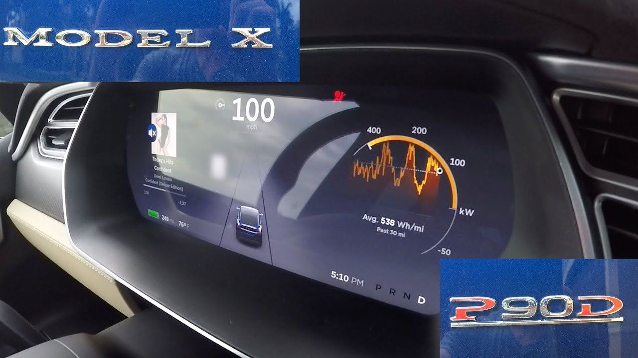 Tesla's Model X Is The Fastest SUV Ever