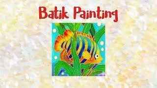 Gambar cover Batik Painting - How to Paint Angel Fish