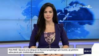 RTK3 Lajmet e orës 08:00 10.07.2020