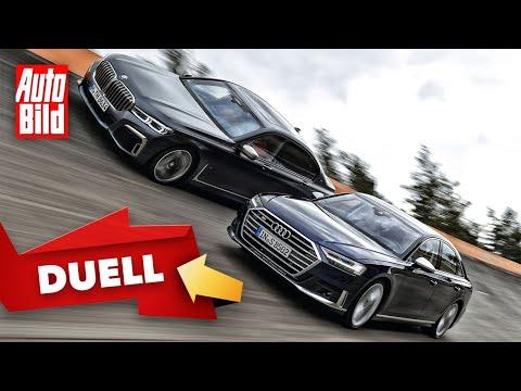 Duell hinter'm Deich: Audi S8 vs. BMW M760Li (2020): Test - Vergleich - Limousinen - Infos - deutsch