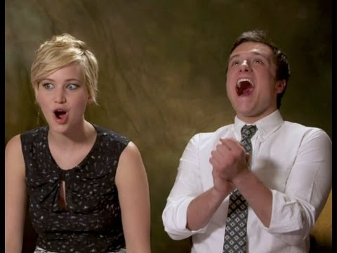 Jennifer Lawrence & Josh Hutcherson talk about Pranking