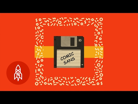 Jak vznikl Comic Sans - Great Big Story