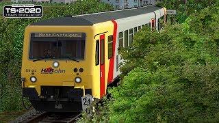 TRAIN SIMULATOR 2020 - Totaler Fail mit den BREMSEN   RB31 Pendelfahrten   KBS632 Horlofftalbahn