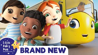 School Bus | BRAND NEW! | Baby Songs | Nursery Rhymes | Little Baby Bum | Bus Songs For Kids