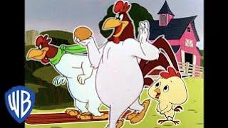 Looney Tunes en Español Latino America | El Gallo Claudio en la granja | WB Kids