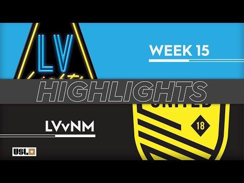 Las Vegas Lights - New Mexico 5:1. Видеообзор матча 16.06.2019. Видео голов и опасных моментов игры