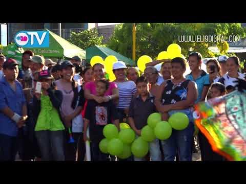 Caminata verde en amor a Nicaragua por victoria en Indio el Maíz