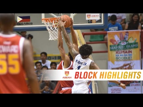 Ray Parks Jr. with the chasedown block