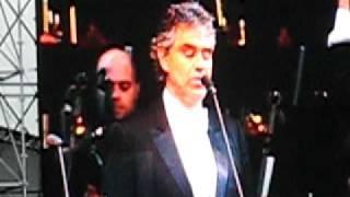 Andrea Bocelli - Vieni Sul Mar - 21abr2009