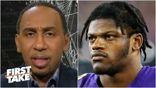 Are the Ravens too reliant on Lamar Jackson? Stephen A. thinks so | First Take