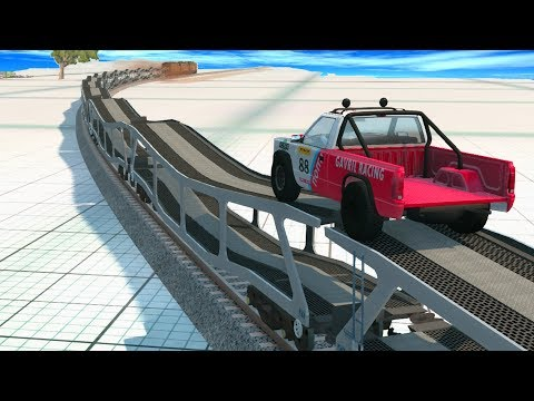 Longest Train in BeamNG ever - BeamNG Drive | Crash Therapy