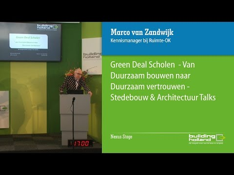 Green Deal Scholen - van duurzaam bouwen naar duurzaam vertrouwen