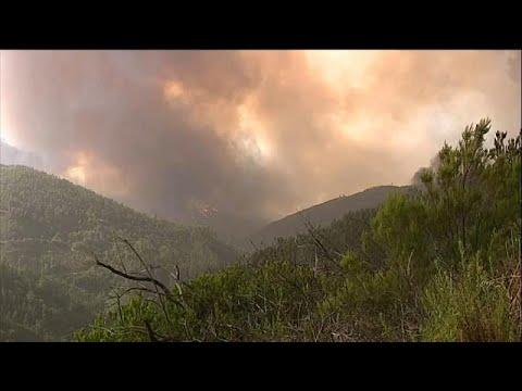 Στις φλόγες η Ιβηρική – Μεγάλες φωτιές σε Πορτογαλία και Ισπανία…