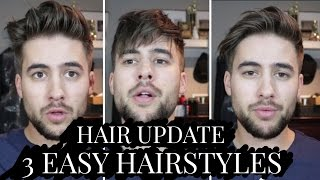 Hair Update: Modern Quiff, Messy Fringe & Sidepart Hairstyles For Short Hair | Best Mens Hair 2017
