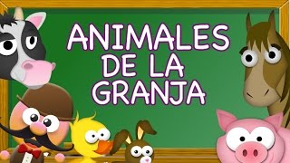 ANIMALES DE LA GRANJA EN INGLES - INGLÉS PARA NIÑOS CON  MR PEA