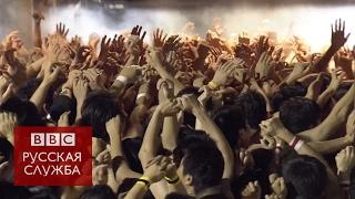 Тысячи голых японцев поборолись за деревянные палки
