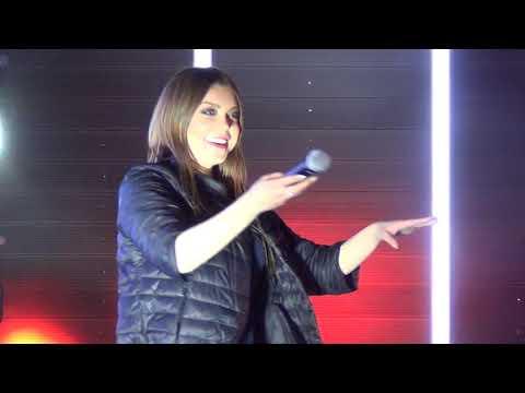 Певица Акула,( Оксана Почепа) в городе Домодедово