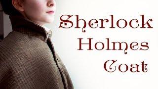 Making A Sherlock Holmes Inverness Coat