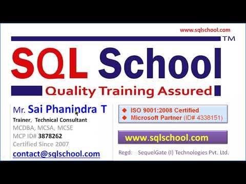 PostgreSQL DBA Training From SQL School - YouTube