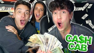 CASH CAB with JESS AND GABRIEL CONTE!!