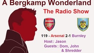 ABW Radio Arsenal v Burnley