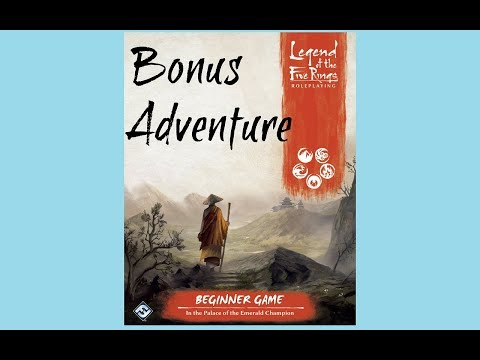 Free Bonus Adventure for the Legend of the Five Rings Roleplaying Game from Fantasy Flight Games