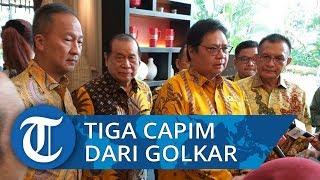 Jagoan dari Golkar Bamsoet, Aziz Syamsuddin, dan Zainudin Amali Masuk Bursa Pimpinan MPR/DPR