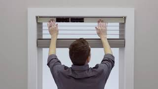 Serena Wood Blinds by Lutron: Installing for Inside Mount