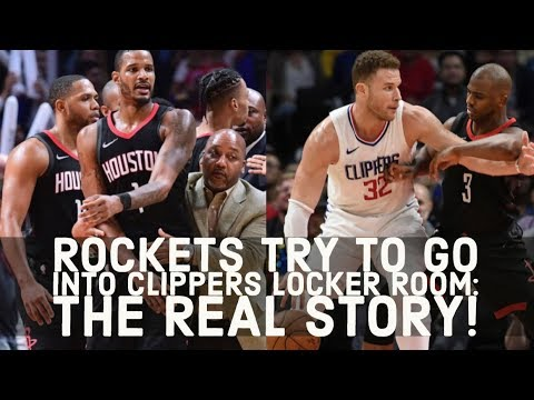 Rockets Try To Sneak Into Clippers Locker Room To Fight Austin Rivers? WHAT ACTUALLY HAPPENED!