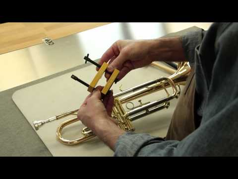 Removing The Stuck Mouthpiece on a Trumpet