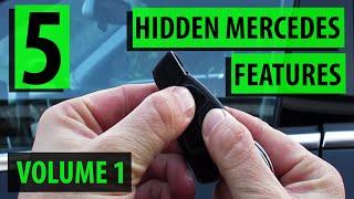 5 Hidden Mercedes functions, tricks & features - Vol 1