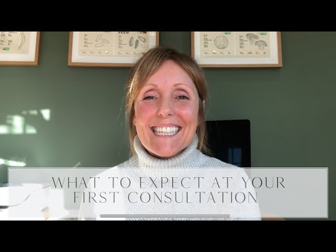 What to expect at your first consultation
