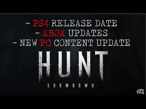 Hunt Showdown: January News Update! (PS4 Release Date, XBOX and PC New Content)